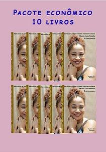 Pacote econômico 10 livros Escritores contemporâneos (poesias de março)
