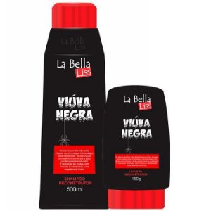 Viúva Negra Kit Shampoo 500ML + Leave-in 150G La Bella Liss