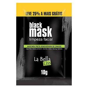 Black Mask Máscara Preta Removedora de Cravos 10g La Bella Liss