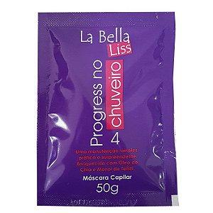 Escova Progressiva No Chuveiro Sachê 50ml La Bella Liss