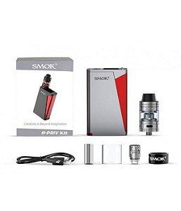 Kit H-PRIV 220W TC + Atomizador Micro TFV4 - Smok