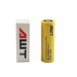 Bateria/ Pilha IMR 18650 - 3.7V 2000mAh 18A - AWT