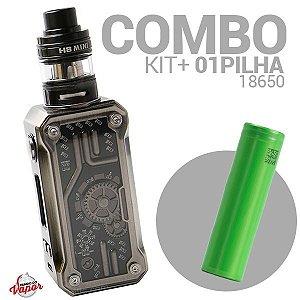 COMBO Kit Punk 85w - Teslacigs + Bateria/ Pilha 18650