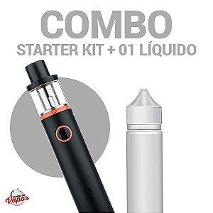 COMBO Kit Vape PEN 22 com 01 Líquido