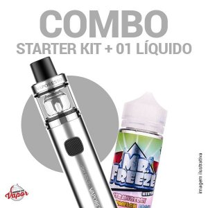 COMBO Kit Sky Solo - Vaporesso + 1 líquido Mr.Freeze - 100ml
