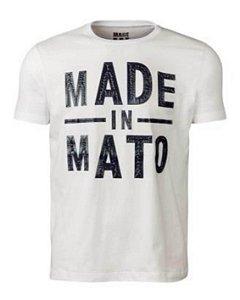 f29a436f17 Camiseta Masculina Made in Mato Off White GG