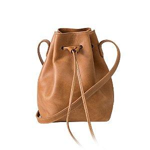 Bolsa em Couro Ann – Camel