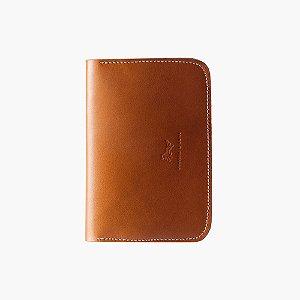 Porta passaporte de Couro Henry - Bicolor
