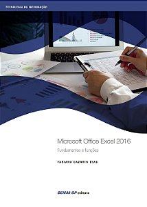 Microsoft Office Excel 2016 - Nível Básico