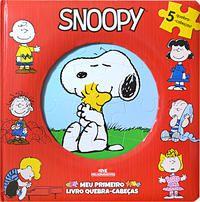 Snoopy – Meu Primeiro Livro Quebra-Cabeças