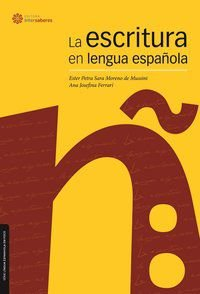La escritura en lengua española