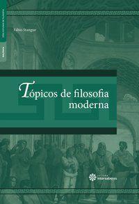 Tópicos de filosofia moderna