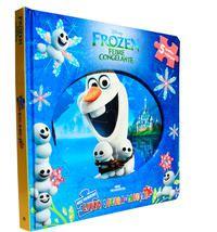 Frozen Febre Congelante-Meu Primeiro Livro Quebra-cabeças