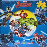 Avengers-Meu Primeiro Livro Quebra-cabeças