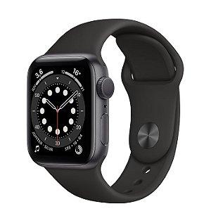 Apple Watch Series 6 40mm Caixa Cinza com Pulseira Esportiva