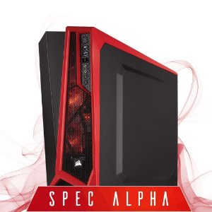 Computador Gamer SPEC ALPHA, Intel® Core™ I7-4790 3.60GHZ, HyperX 8GB, Geforce GTX 750TI 2GB DDR5, HD 500GB, Gabinete Corsair Spec Alpha