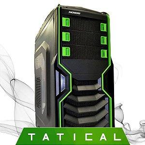 Computador Gamer Tatical AMD 6300 3.5 Ghz, 8GB, Radeon R7 370 2GB DDR5, HD 500GB, Gabinete Gamer Microdigi