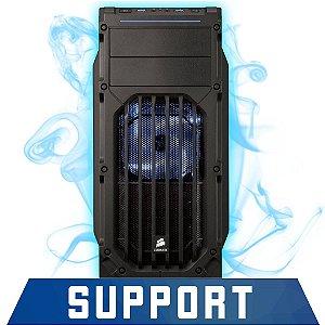 Computador Gamer SUPPORT Intel® Core™ i3 3.70GHZ, 8Gb RAM, Geforce GTX 950 2GB DDR5 128 BITS, HD 500GB, Gabinete Corsair Carbide Series® SPEC-03 Blue