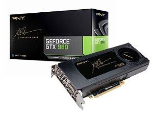 Placa de Vídeo VGA PNY Geforce GTX 960 4GB DDR5 128-bit VCGGTX9604XPB