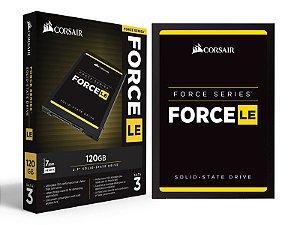 "SSD CORSAIR 120GB CSSD-F120GBLE200C FORCE LE200 120GB 2.5"" SATA III 6GB/S BOX"