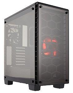 Gabinete Gamer Corsair Crystal Series 460X Vidro Temperado Atx CC-9011099-WW