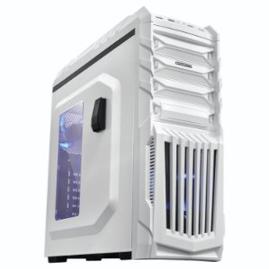Gabinete Gamer PCYes Tiger Branco Mid-Tower