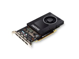 Placa de Vídeo Quadro P2000 Nvidia 5Gb DDR5 160Bit 1024 Cuda Cores Dp