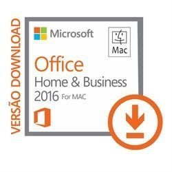 Office Home and Business 2016 p/ MAC - DOWNLOAD - W6F-00608