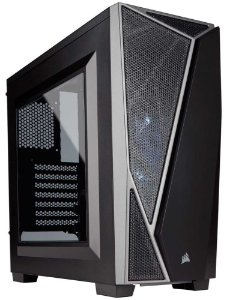 Gabinete Gamer Corsair Carbide Series Spec-04 Preto/Cinza CC-9011109-WW