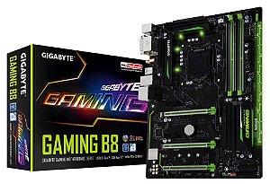 Placa Mae Lga 1151 Intel Gigabyte Ga-Gaming B8 Atx DDR4 2400Mhz M.2 Hdmi Usb 3.1