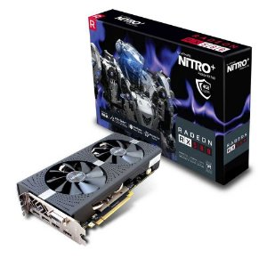 Placa de Vídeo Sapphire Radeon Rx 580 4Gb Nitro+ DDR5 256Bits 11265-07-20G