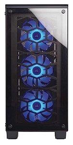 Gabinete Gamer Corsair Crystal Series 460X RGB Vidro Temperado Atx CC-9011101-WW