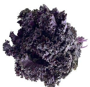 Couve Crespa (Kale) Roxa Orgânica - Maço