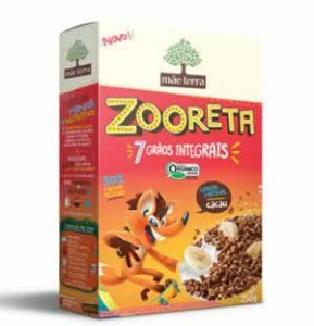 Cereal Zooreta Sabor Cacau 250g - Orgânico