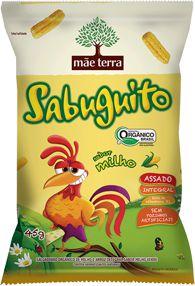 Salgadinho Sabuguito 45g - Orgânico