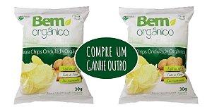 Batata Chips Ondulada 30g - Orgânica