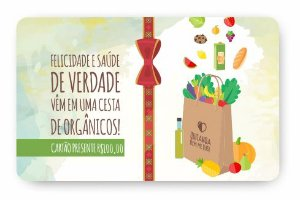 Cartão Presente de Natal - R$100,00