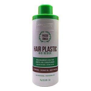 Escova Progressiva Hair Plastic Bio Redux Passo Único Loretrend Sem Formol 1 Litro