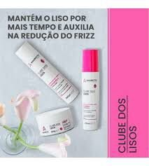 Kit Clube Dos Lisos Home Care 3 passos