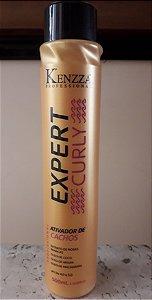 Curly Kenzza Leave-in Ativador de Cachos nova embalagem 500ml sem enxague
