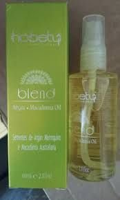 Oil Blend Argan e Macadamia Hobety 60ml