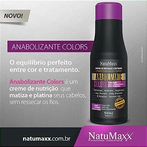 Anabolizante Matizador Capilar Natumaxx Platinum Colors 500ml