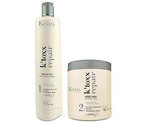 Botox K´Toxx  Kenzza Kit mascara e shampoo preparatório