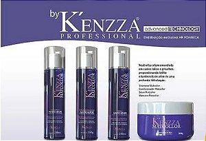 Kit Matcollor Kenzza Shampoo, Condicionador ,Mascara e Seiva