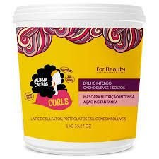 FOR BEAUTY CACHOS CURLS MÁSCARA DE NUTRIÇÃO INTENSA 1kg