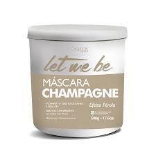 Mascara Matizadora Champagne efeito perolado Let Me Be 500gr