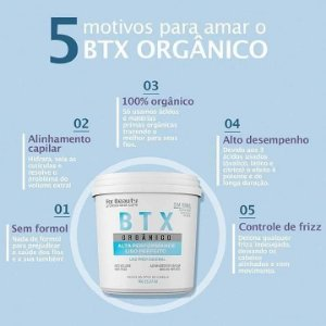 Botox BTX Argan Orgânico For Beauty 1kg