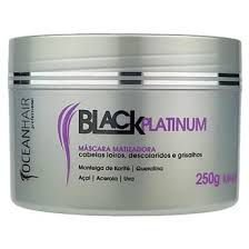 Mascara matizadora Black Platinum 250gr Oceanhair
