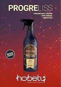 Progress Liss Lançamento Escova Liquida Hobety com queratina