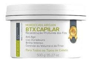 BOTOX ARGAN FOR BEAUTY  MAX ILUMINATION 500gr
